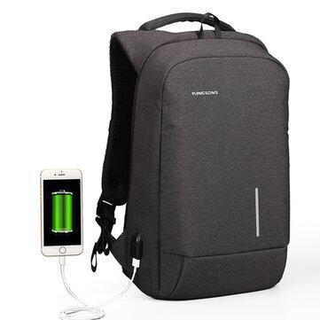 13/15 Pollici Laptop Backpack Zaino antifurto impermeabile Anti con porta USB esterna