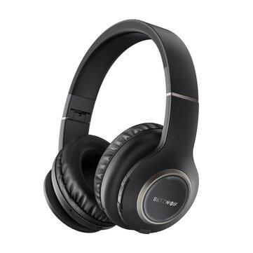 Blitzwolf® BW-HP0 Headphone Bluetooth Nirkabel Portabel Lipat Over-ear Stereo Musik Sport Headset dengan Mic