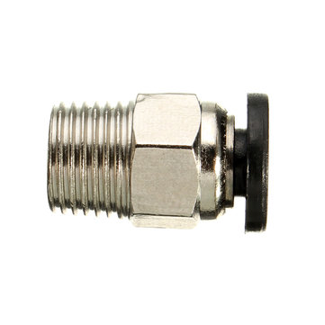 5PCS Pneumatic Connectors PC4-01 For 1.75mm 3mm PTFE Tube Quick Coupler Feed Inlet