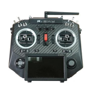 FrSky Horus X10S 16 kênh RC Drone Chế độ máy phát 2 MC12plus Bảng điều khiển sợi carbon Gimbal