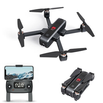 Eachine EX3 GPS 5G WiFi FPV dengan 2 K Kamera Aliran Optik OLED Switchable Remote Brushless Lipat RC Drone Quadcopter RTF