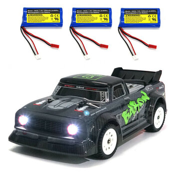 SG 1603 RTR Several Battery 1 or 16 2.4G 4WD 30km or h RC Car LED Light Drift On Road Proportional Vehicles Model