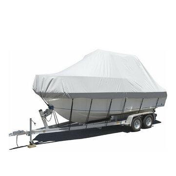 20-21ft 6.1-6.4m Waterproof Heavy Duty 600D Trailerable Jumbo Boat Cover