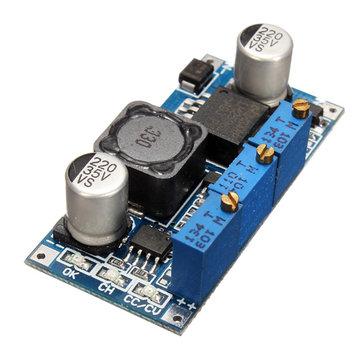 2Pcs DC7V-35V to DC1.25V-30V LED Driver Charging Constant Current Voltage Step Down Buck Power Supply Module