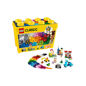790 Pieces Kids Building Kit LEGO Classic Large Creative Brick Box 10698 Build Your Own Creative Toys