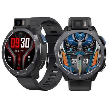 [Rotatable Flash Camera] KOSPET Optimus 2 Dual Mode Dual Chip 4G+64G Octa_core 4G_LTE Watch Phone GPS+Beidou Android 10.7 SpO2 Monitor Smart Watch