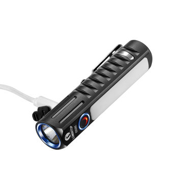 Lumintop EDC05C XHP35 HI + 4x Nichia NCSLE17 LEDs 7Modes Micro USB Rechargeable Flashlight EDC 14500 Flashlight