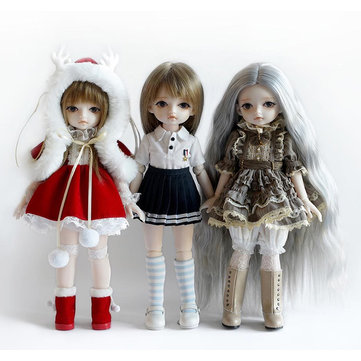 Monst BJD Joints Doll Holiday Gift Intern Lolita Girls Realistic Dolls Figure Gift Decor Collection