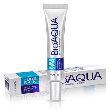 BIOAQUA Acne Treatment Cream Facial Scar Mark Lightning Oil Control Shrink Pores Moisturizer