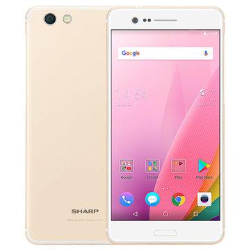 SHARP Z3 FS8009 Global Version 5.7 Inch 3100mAh 4GB 64GB Snapdragon 652 Octa Core 4G Smartphone