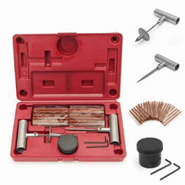 35PCS Tyre Repair Tool Kit to Fix Punctures and Plug Flats Puncture Emergency Fixing Tool