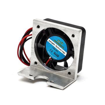 12V DC Cooling Fan With Metal Bracket For 3D Printer Delta Structure J-HEAD Extruder