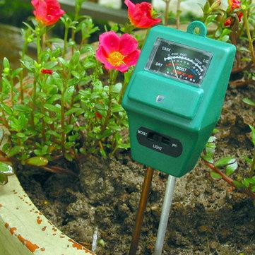 केसीएएसए केसी-एसएमटी 100 प्रो 3 में 1 पीएच सनलाइट हाइड्रोपोनिक्स विश्लेषक स्मार्ट वुड मृदा मॉइस्चर