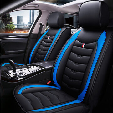3D Leather Car Seat Cover Full Surround Protection Truck Front Seat Universal