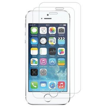 2 pezzi Bakeey Protezione schermo in vetro temperato resistente ai graffi di 0,26 mm 9H per iPhone 5/5s/SE