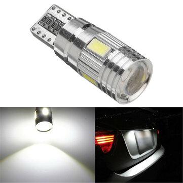 T10 W5W 5630 LED Car Side Marker Lights Canbus Error Free Wedge Bulb Lamp 12V 2.5W White 1Pcs