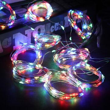 Waterproof 300 LED Curtain Lights String Fairy Light Birthday Wedding Home Decor