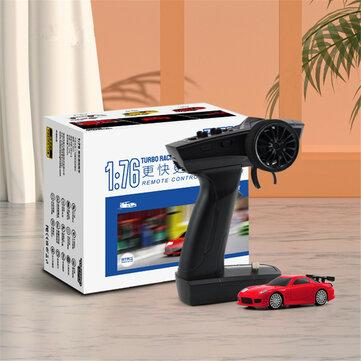 Turbo Racing C71 RTR 1_76 2.4G RWD Mini RC Car Sports Vehicles LED Lights Full Proportional Toys On_Road Models