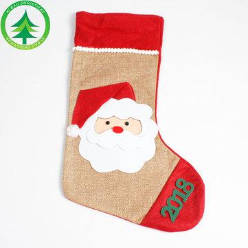 Christmas Hand-Socks Creative Hand Bag Christmas Handicraft Colorful