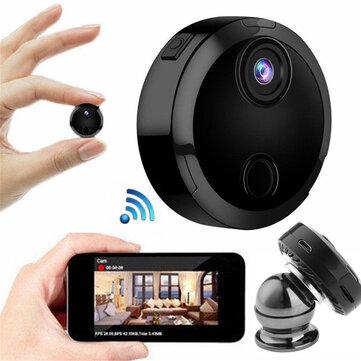 Mini HD 1080P Kablosuz WiFi IP Güvenlik Kamera Gece Görüş Ev Kamera APP Kontrolü