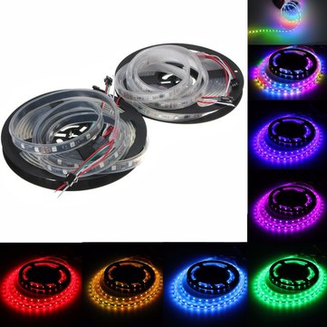 WS2811 5M LED Strip 240 SMD 5050 RGB Dream Color Light Waterproof IP65 DC 12V