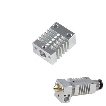 ₹379.24 % 4.1MM Through Hole Heatsink  Aluminum Block for 3D Printer 3D Printer & Supplies from Electronics on banggood.com