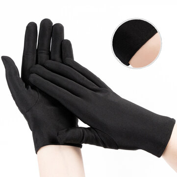Bakeey Elastic Breathable Washable bacterial Isolation Cloth Watch Repairement Etiquette Training Driving Unisex Black Glove for sale in Bitcoin, Litecoin, Ethereum, Bitcoin Cash with the best price and Free Shipping on Gipsybee.com