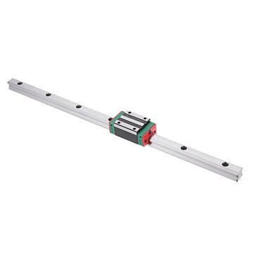 Machifit HGR15 100-1200mm Linear Rail Guide with HGH15CA Linear Rail Guide Slide Block CNC Parts