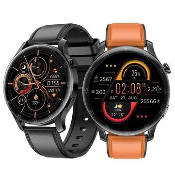 SENBONO Max 2 1.28 inch IPS HD Full Round Screen Heart Rate Blood Pressure SpO2 Monitor 45 Days Long Standby IP68 Waterproof BT5.0 Smart Watch