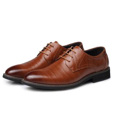 Business Men's Casual Lace Up Dress Shoes