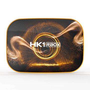 HK1 R1 RK3318 4GB RAM 128GB ROM 5G WIFI bluetooth 4.0 Android 10.0 4K at 60fps VP9 H.265 TV Box