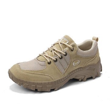 Men Non-Slip Wear Resistant Breathable Outdoor Hiking Sneakers