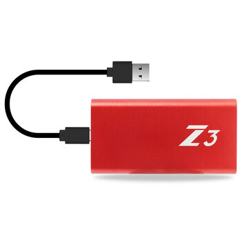 Kingspec Z3 Type C USB 3.1 External SSD Solid State...