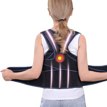 Unisex Điều chỉnh tư thế lưng gù Corrector Lumbar Back Hỗ trợ Brace Correction Belt