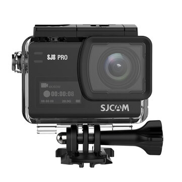US$239.00 15% SJCAM SJ8 PRO 4K 60fps Action Camera Dual Screen Sport Camera DV Ambarella H22 Chipset Big Box Car DVRs from Automobiles & Motorcycles on banggood.com