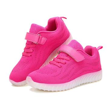 Kids light up led sport shoes girls