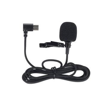 Orijinal SJCAM SJ8 Serisi Aksesuarlar Type C SJ8 Pro için Harici Mikrofon/Plus / Air Sport Kamera