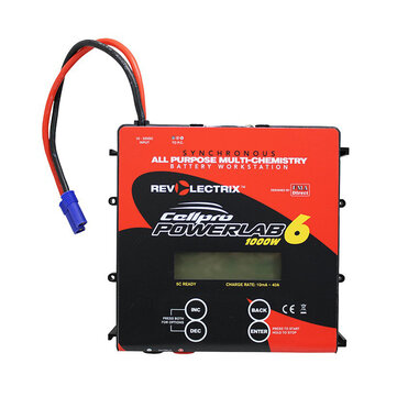 Revolectrix Cellpro PowerLab 6 1000W 40A Battery Charger for 1-6S Lipo Battery