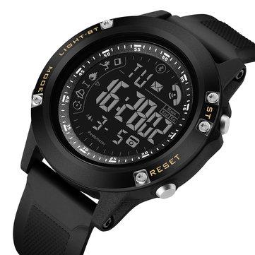 読むR5010 BT4.0ステップカウントメッセージコールリマインダー目覚まし時計リモートカメラスマートデジタルウォッチ