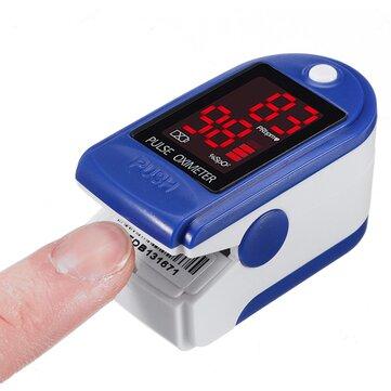 Fingertip SpO2 Pulse Rate Monitor Pulse Oximeter Health Blood Oxygen Monitor Finger Clip Blood Oxygen Meter
