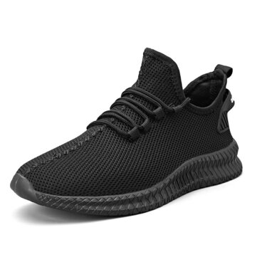 TENGOO Mens Running Shoes Antibacterial Ultralight Breathable Sports Sneakers Walking Shockproof Casual Shoes