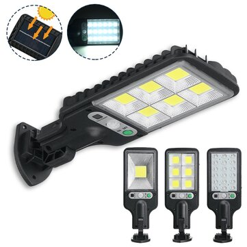 300W_650W IP65 LED Solar Street Light PIR Motion Sensor Wall Mounted Lamp Garden