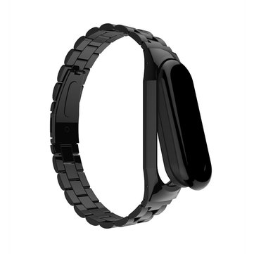Bakeey reloj anti-perdido Banda brazalete de hebilla de acero inoxidable para Xiaomi Mi Banda3