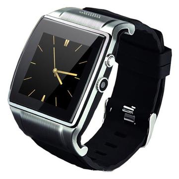 Bluetooth v3.0 montre reloj elegante pulsera 2.0mp cámara pour android samsung htc