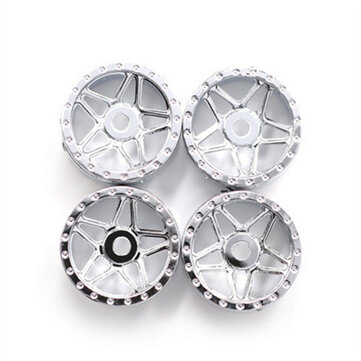 4PCS Orlandoo Hunter Wheel Hub Rims for OH35A01 OH32A03 OH32P02 1/32 1/35 RC Car