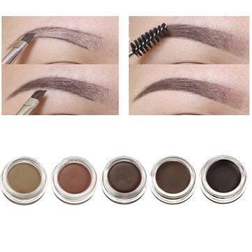 4 Colors Pomade Eyebrow Dyed Cream Makeup Cosmetic Long Lasting Waterproof