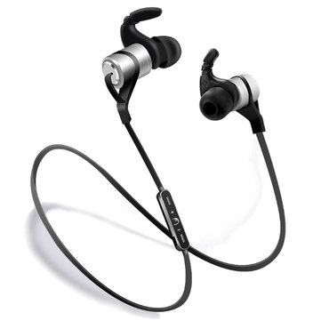 Bakeey™ D9 En el oido Deporte Impermeable Prueba de sudor Absorción Magnética Mensaje de Voz V4.1 Auricular de Bluetooth