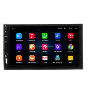 7 इंच एंड्रॉइड 8.1 टच GPS वाईफाई स्टीयरिंग व्हील कंट्रोल मोबाइल इंटरनेट कार एमपी 5 प्लेयर