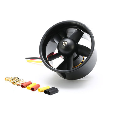 QX-Motor 64MM 5 Blades EDF Unit With QF2611 4500KV Brushless Motor