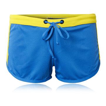 ग्रीष्मकालीन पुरुषों Equarea त्वरित सूखी खेल शॉर्ट्स ड्राइंग के साथ यू उत्तल पाउच तैराकी ट्रंक में ब